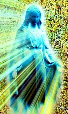 Mother Of Jesus Digital Art - Ave Maria Iv by Aurelio Zucco