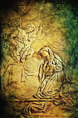 Ave Maria...gratia Plena Art Print by Lianne Schneider