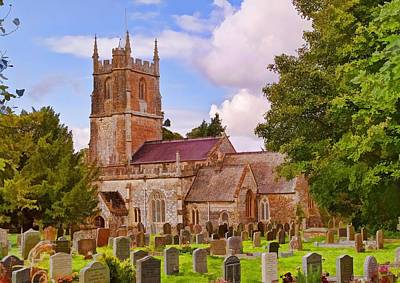 Photograph - Avebury Church -1 by Paul Gulliver