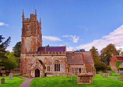 Photograph - Avebury Church -2 by Paul Gulliver