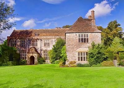 Photograph - Avebury Manor -2 by Paul Gulliver
