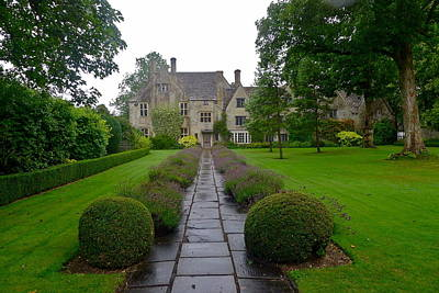 Photograph - Avebury Manor House by Denise Mazzocco