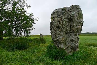Photograph - Avebury Megalith by Denise Mazzocco