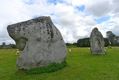 Photograph - Avebury Megaliths by Denise Mazzocco