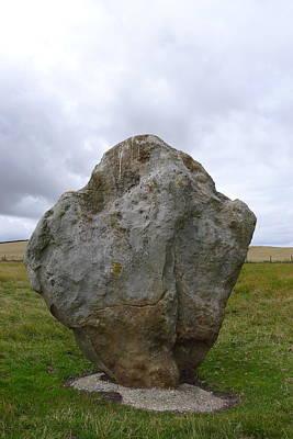 Photograph - Avebury Stone by Denise Mazzocco