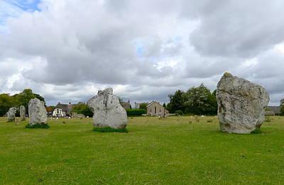 Photograph - Avebury Stones by Denise Mazzocco