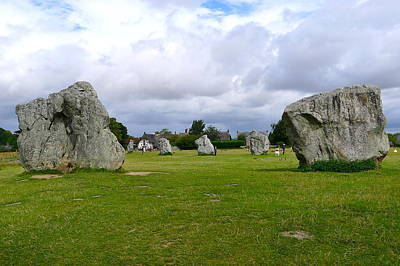 Photograph - Avebury's Southern Entrance Stones by Denise Mazzocco