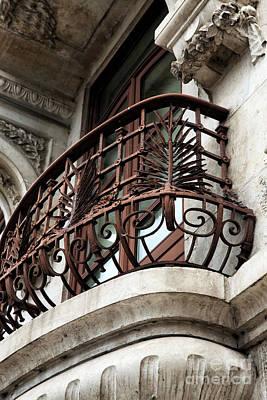 Photograph - Aveiro Balcony by John Rizzuto