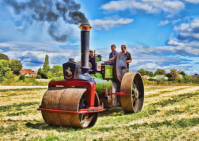 Photograph - Aveling Roller by Paul Gulliver