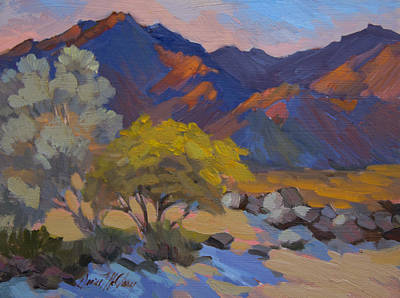 Painting - Avenida Montezuma Scene by Diane McClary
