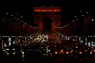 Photograph - Avenue Des Champs-elysees by John Galbo