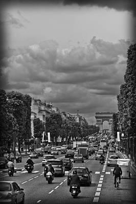 Classic Christmas Movies - Avenue des Champs Elysees by Maj Seda