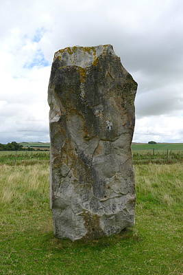Photograph - Avenue Stone In Avebury by Denise Mazzocco
