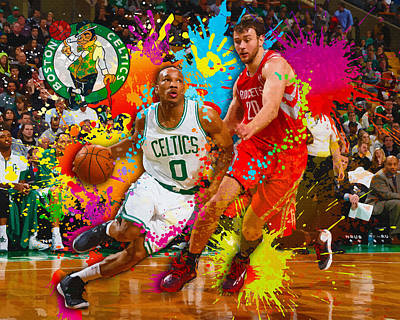 Avery Bradley Of The Boston Celtics Original by Don Kuing