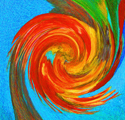 Photograph - Avian Swirl 3 by Margaret Saheed
