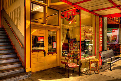 Arizona Photograph - Aviance Antiques Prescott Arizona by David Patterson