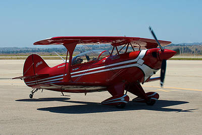 Photograph - Aviat Pitts S-2b by Richard J Cassato