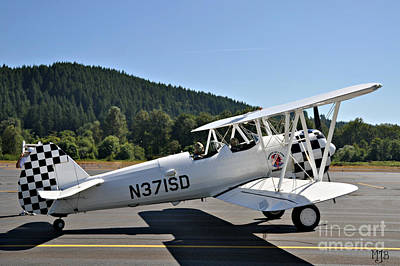 Art Print featuring the photograph Aviation Dreams by Mindy Jo Bench