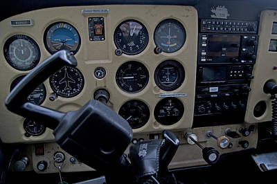 Cockpit Photograph - Aviation Near Jekyll Island by Betsy Knapp