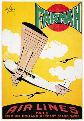 Photograph - Aviation Poster, 1926 by Granger