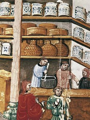 Miniature Shops Photograph - Avicenna 980-1037. Canon Of Medicine by Everett