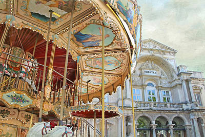 Photograph - Avignon Carousel by Karen Lynch