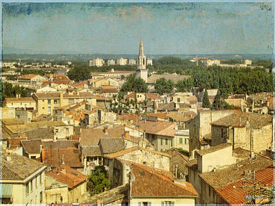 Photograph - Avignon From Les Roches by Paulette B Wright