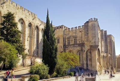 Avignon - Palais Des Papes Art Print