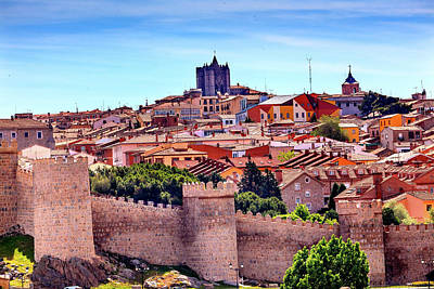 Avila, Ancient Medieval City, Castile Art Print