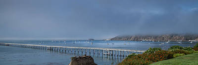 Photograph - Avila Beach Pier And Harbor by Roger Mullenhour