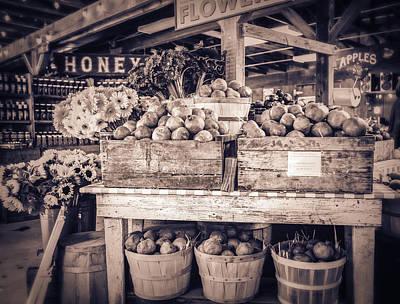 Farmstand Photograph - Avila by Caitlyn  Grasso