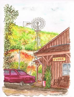 Avila Valley Farm In Avila Beach - California Art Print
