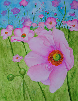 Painting - Avoca Handweavers Wildflowers by Patricia Beebe