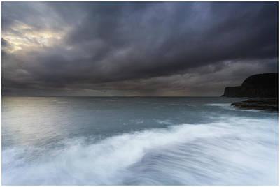 Photograph - Avoca Sunrise 1 by Steve Caldwell