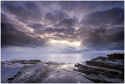 Photograph - Avoca Sunrise 3 by Steve Caldwell