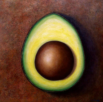 Orange County Painting - Avocado by Jennifer Richards