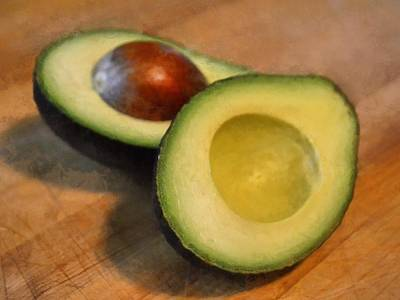 Avacado Photograph - Avocado by Michelle Calkins