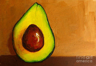 Painting - Avocado Palta Vi by Patricia Awapara