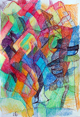 Creativity Drawing - Avoiding Confusion 1 by David Baruch Wolk
