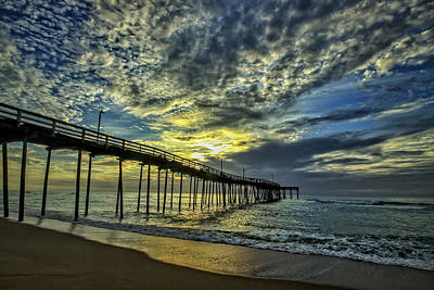 Avon Pier At Dawn Art Print