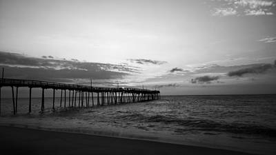Avon Pier In Outer Banks Nc Art Print