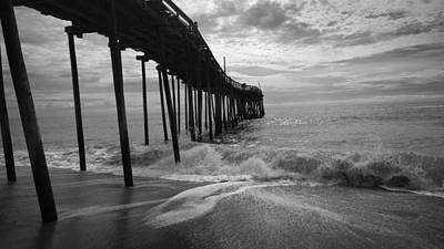 Photograph - Avon Pier On Hatteras Island Outer Banks Nc by Kelly Hazel
