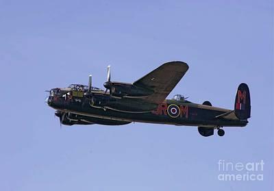 Avro 638 Lancaster At The Royal International Air Tattoo Art Print by Paul Fearn