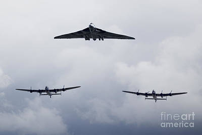 Lancaster Bomber Digital Art - Avro Day by J Biggadike