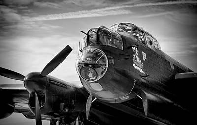 Avro Lancaster Art Print by Ian Merton
