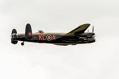 Photograph - Avro Lancaster Pa474 by Gary Eason