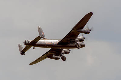 Photograph - Avro Lancaster Pa474 Taking Off  by Gary Eason