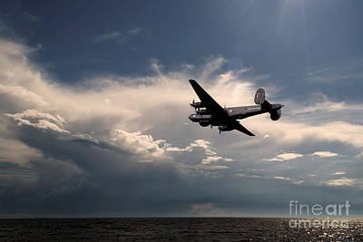 Searching Digital Art - Avro Shackleton  by J Biggadike