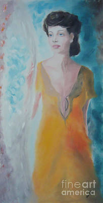 Awaiting Art Print by Angela Melendez