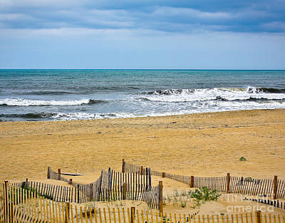 Photograph - Awaiting The Storm - Sandbridge Virginia by John Waclo